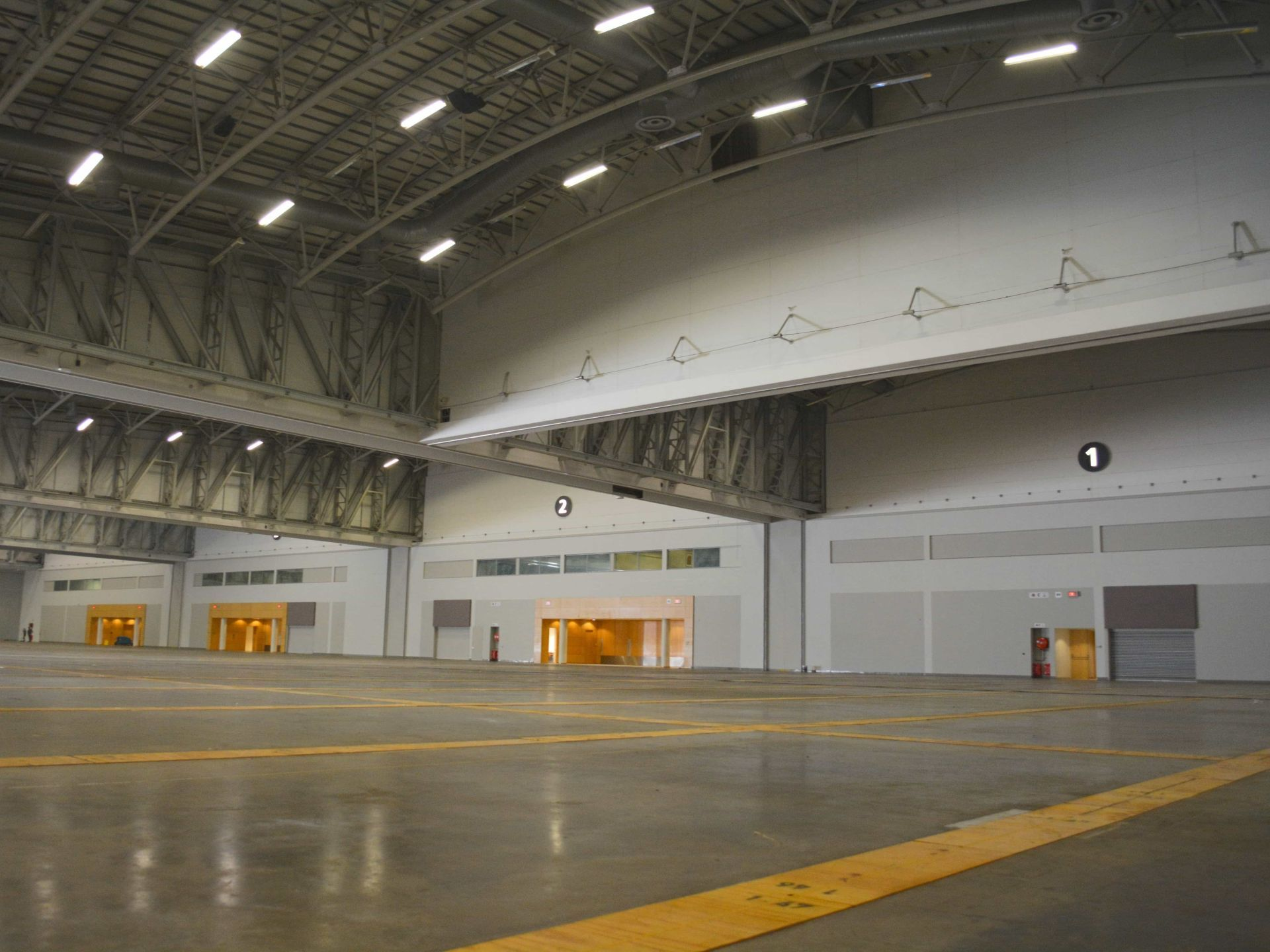 Exhibition hall Cropped