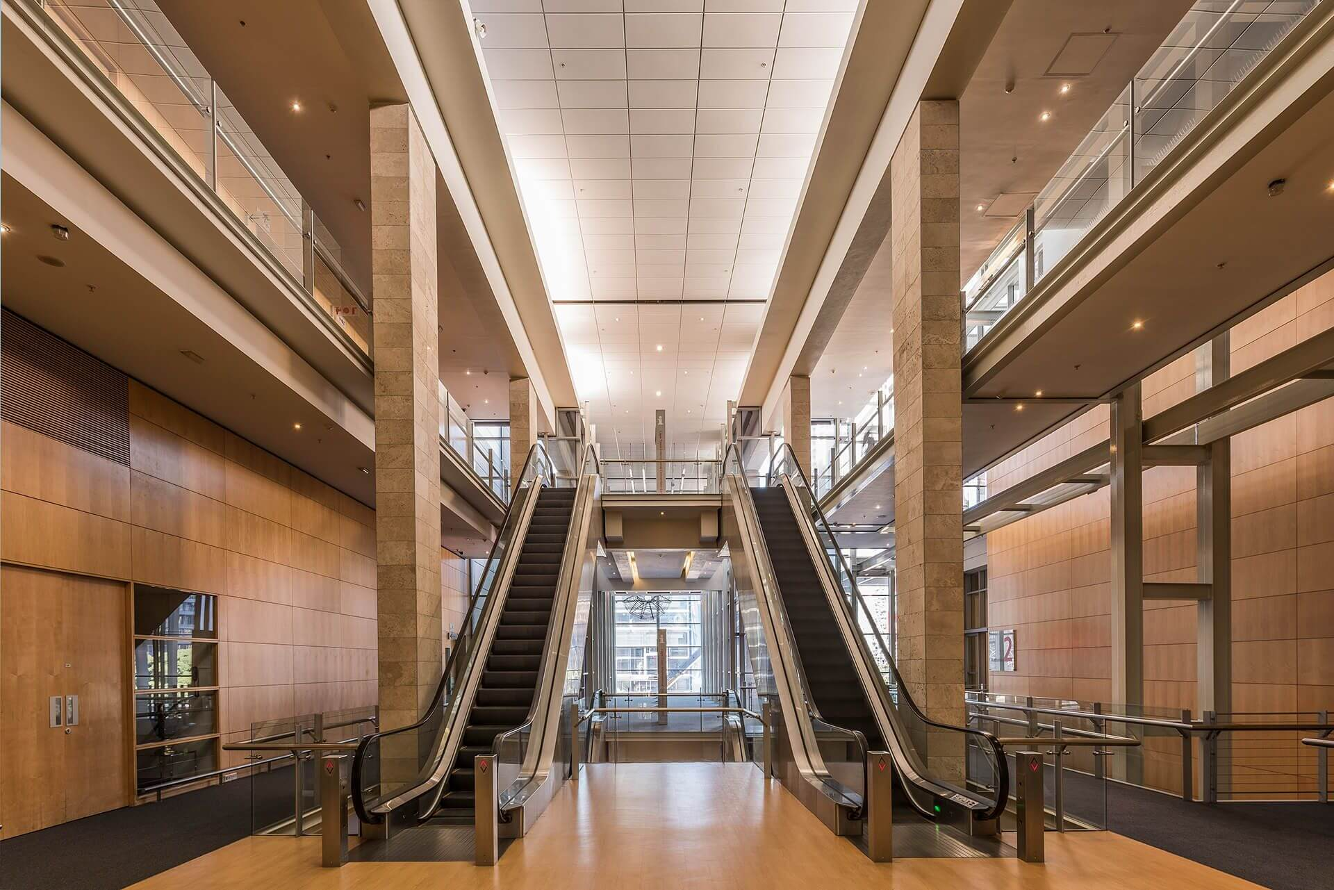 CTICC 1 2nd floor escalators