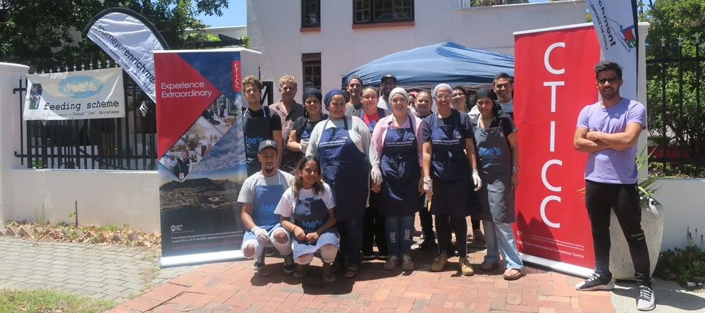 The CTICC Supported the Food for Change event, which fed 1 000 people.