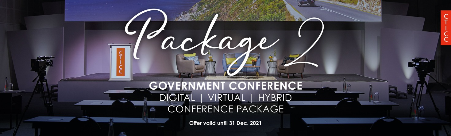 CTICC Government packages