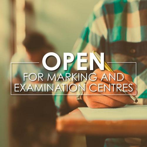 CTICC Examination and marking